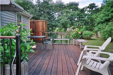 West Yarmouth Cape Cod vacation rental - Deck