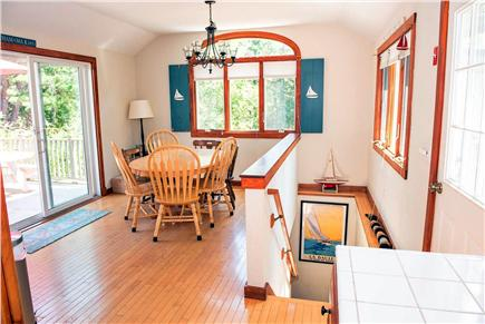 Eastham Cape Cod vacation rental - Dining Area (good morning, sunshine!)