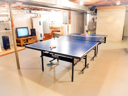 Eastham Cape Cod vacation rental - Rainy day on the Cape? Ping pong in the basement.