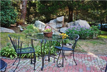 East Dennis Cape Cod vacation rental - Relax in the garden