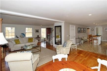 East Dennis Cape Cod vacation rental - Living area