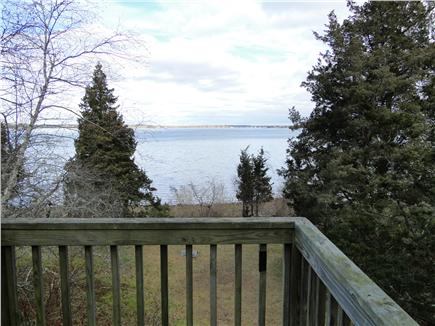 Pocasset, MA Pocasset vacation rental - View from bedroom deck; imagine this in the summer!