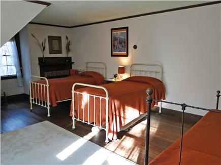 Pocasset, MA Pocasset vacation rental - Upstairs bedroom with three twin beds