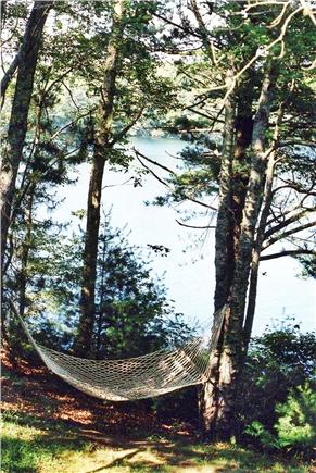 Falmouth Cape Cod vacation rental - Hammock for reading a good book
