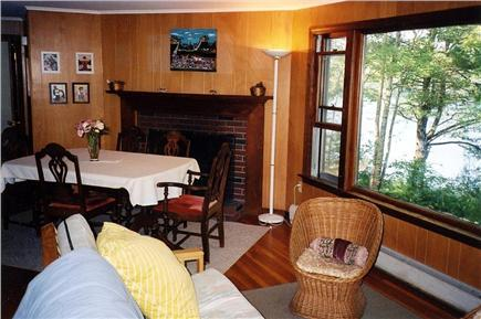 Falmouth Cape Cod vacation rental - Living room/dining area