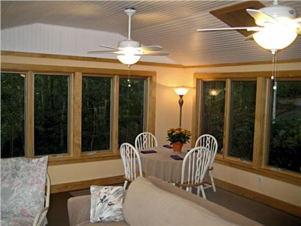 Falmouth Cape Cod vacation rental - Three season room