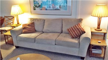 Falmouth Heights Cape Cod vacation rental - New Couch in 2015