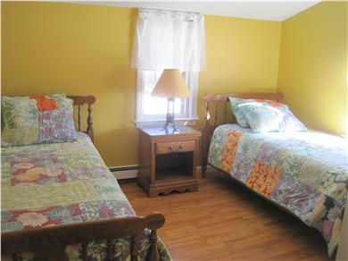 Harwich Cape Cod vacation rental - Twin Yellow Bedroom