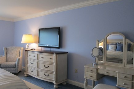 Hyannis, at Cape Codder Resort & Spa Cape Cod vacation rental - 2nd Guest Bedroom comes with a mini refrigerator & a microwave.