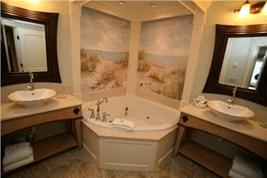Hyannis, at Cape Codder Resort & Spa Cape Cod vacation rental - Master Bath 2-Person Jet Tub, 14-Jet Steams Shower & Heated Floor