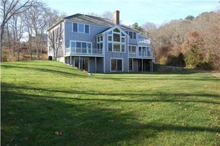 Orleans Cape Cod vacation rental - Expanded view of back yard