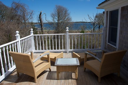 Orleans Cape Cod vacation rental - Second floor deck with a beautiful water view.