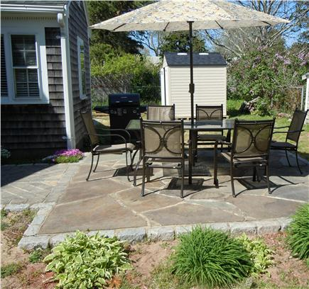 Yarmouth, Bass river Cape Cod vacation rental - Stone patio