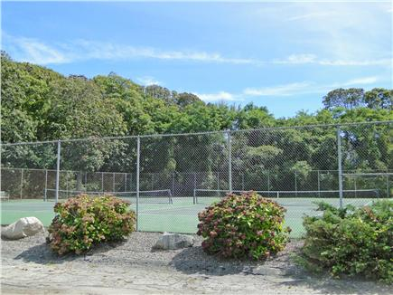 Pocasset Pocasset vacation rental - Association tennis courts across the street!