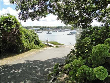 Pocasset Pocasset vacation rental - Path to private beach - 5 minute walk from house!