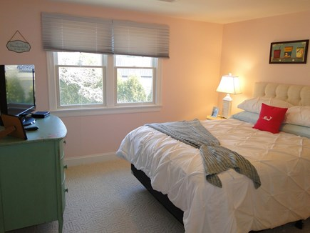 Pocasset Pocasset vacation rental - Upstairs queen bedroom with TV