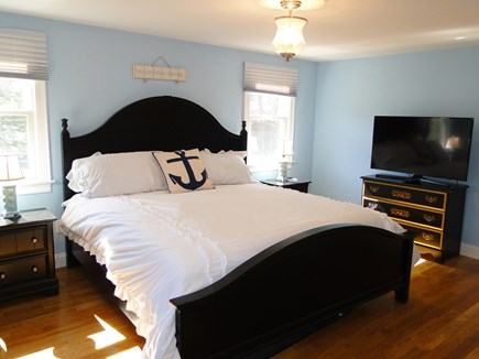 Pocasset Pocasset vacation rental - Main floor king sized master bedroom with full private bathroom