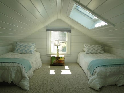 Pocasset Pocasset vacation rental - Upstairs special room with 2 twins – great for kids!