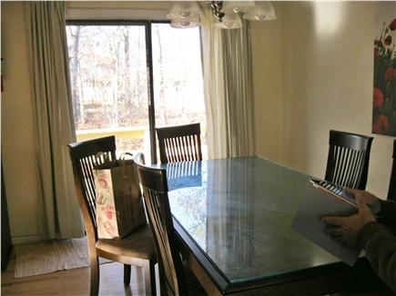 Yarmouth Cape Cod vacation rental - Dining room with sliders to deck