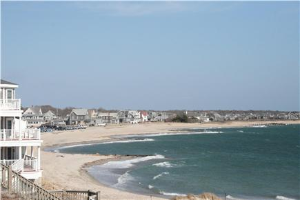 Falmouth Cape Cod vacation rental - Falmouth Heights Beach (view from the Heights)