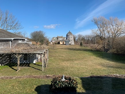 Chatham, MA Cape Cod vacation rental - View of backyard in winter