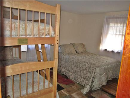 Harwich Cape Cod vacation rental - Second Bedroom w bunks and full