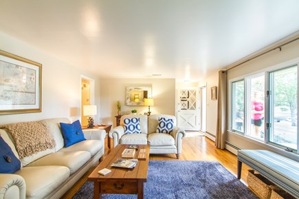 Chatham Cape Cod vacation rental - Nice, bright living room with plenty of seating, new furniture