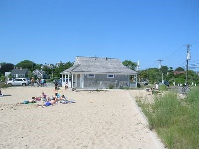 Chatham Cape Cod vacation rental - We have water views of the Oyster.Family beach with bath house.