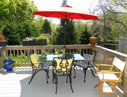 Chatham Cape Cod vacation rental - Relaxing and lovely deck, with water views