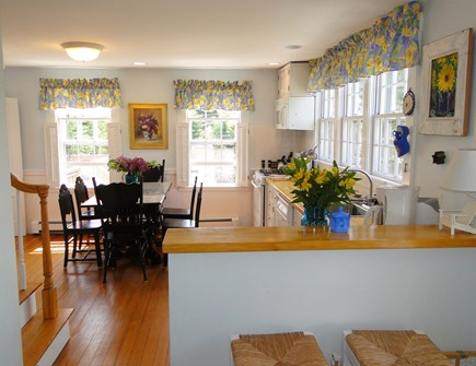 Chatham Cape Cod vacation rental - Bright sunny kitchen with breakfast bar
