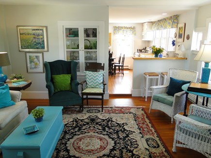 Chatham Cape Cod vacation rental - Living room with views of the water