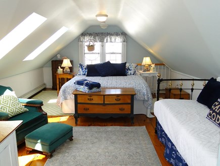 Chatham Cape Cod vacation rental - Spacious king master bedroom upstairs