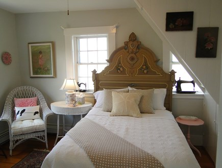 Chatham Cape Cod vacation rental - Queen guest bedroom off living room