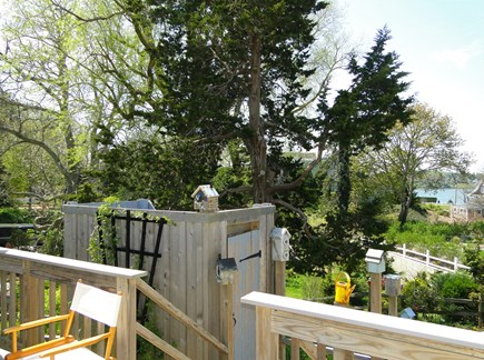 Chatham Cape Cod vacation rental - View from the deck and outdoor shower