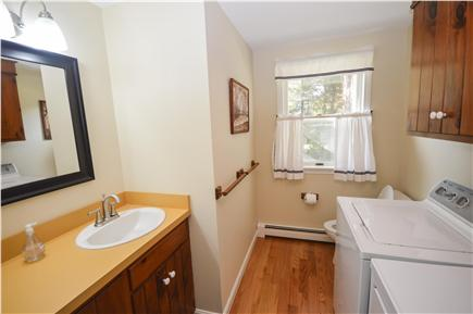 East Orleans Cape Cod vacation rental - Another bathroom with laundry