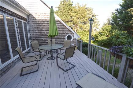 East Orleans Cape Cod vacation rental - Nice deck seating for outdoor meals