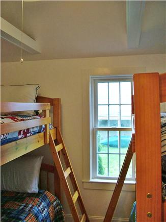 Wellfleet Cape Cod vacation rental - Third bedroom with two sets of bunk beds