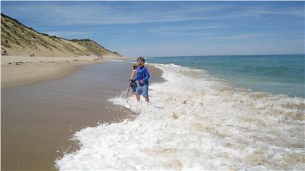 Wellfleet Cape Cod vacation rental - Summer day on the oceanside
