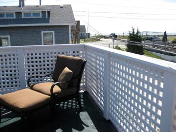 Wellfleet Cape Cod vacation rental - Roof deck overlooking Mayo Beach