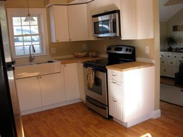 Wellfleet Cape Cod vacation rental - Remodeled kitchen with new appliances
