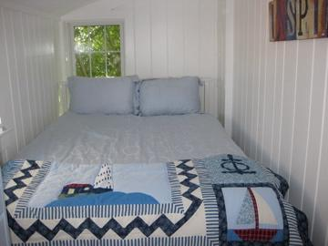 Wellfleet Cape Cod vacation rental - Second bedroom with queen sized bed and large dresser