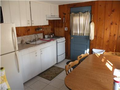 South Dennis Cape Cod vacation rental - Kitchen with table that seats 4