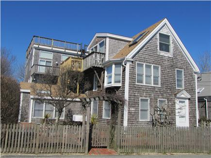 Provincetown, East End Cape Cod vacation rental - The complex as seen from Commercial Street