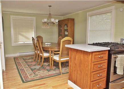 Provincetown, East End Cape Cod vacation rental - Dining area, with seating for six