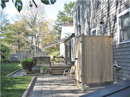 South Dennis Cape Cod vacation rental - Private outdoor shower