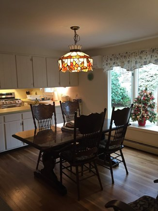 South Dennis Cape Cod vacation rental - Dining room with enough seating for 8.