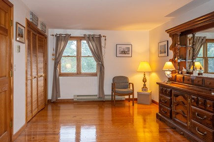 Truro Cape Cod vacation rental - Another view of upstairs bedroom #2 that has a queen bed.