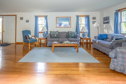 Truro Cape Cod vacation rental - Comcast high speed wireless internet and cable TV in living room.