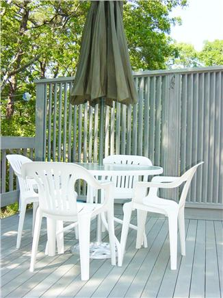 South Dennis Cape Cod vacation rental - Private Deck