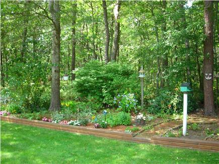 South Dennis Cape Cod vacation rental - Lovely Garden Views from Private Deck